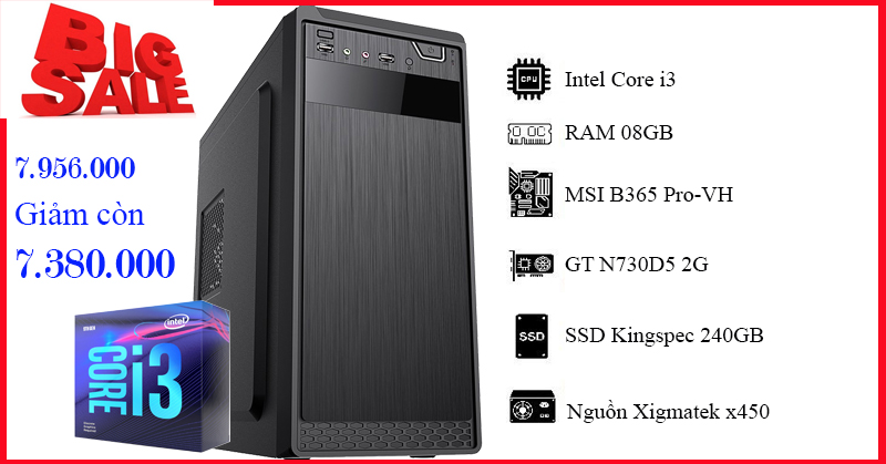 b365m,i3-9100f,8gb,ssd240gb,x450, gtn730d5, xa10